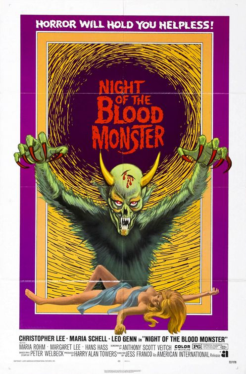 Night of the Blood Monster (1972)