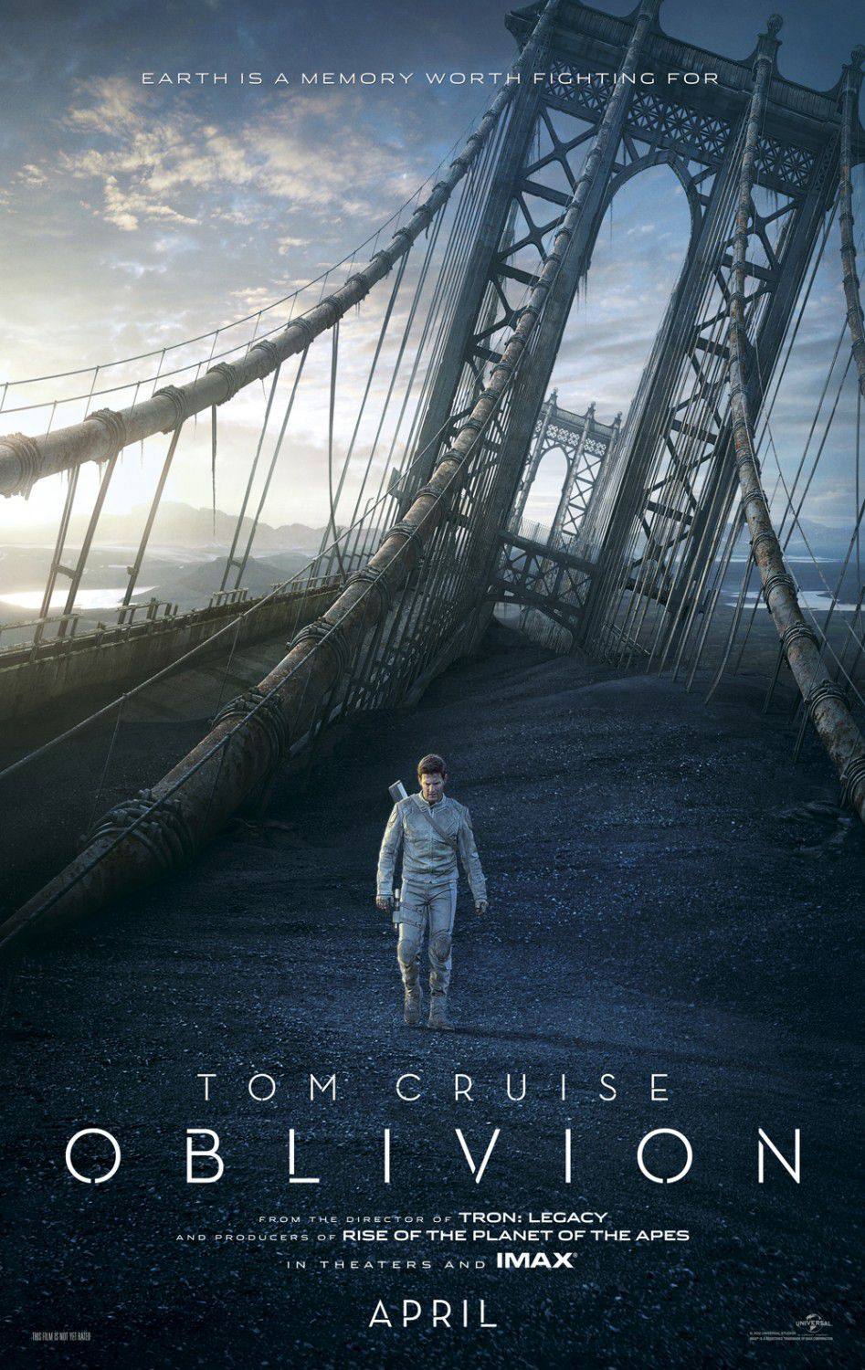 Oblivion (2013) broken bridge
