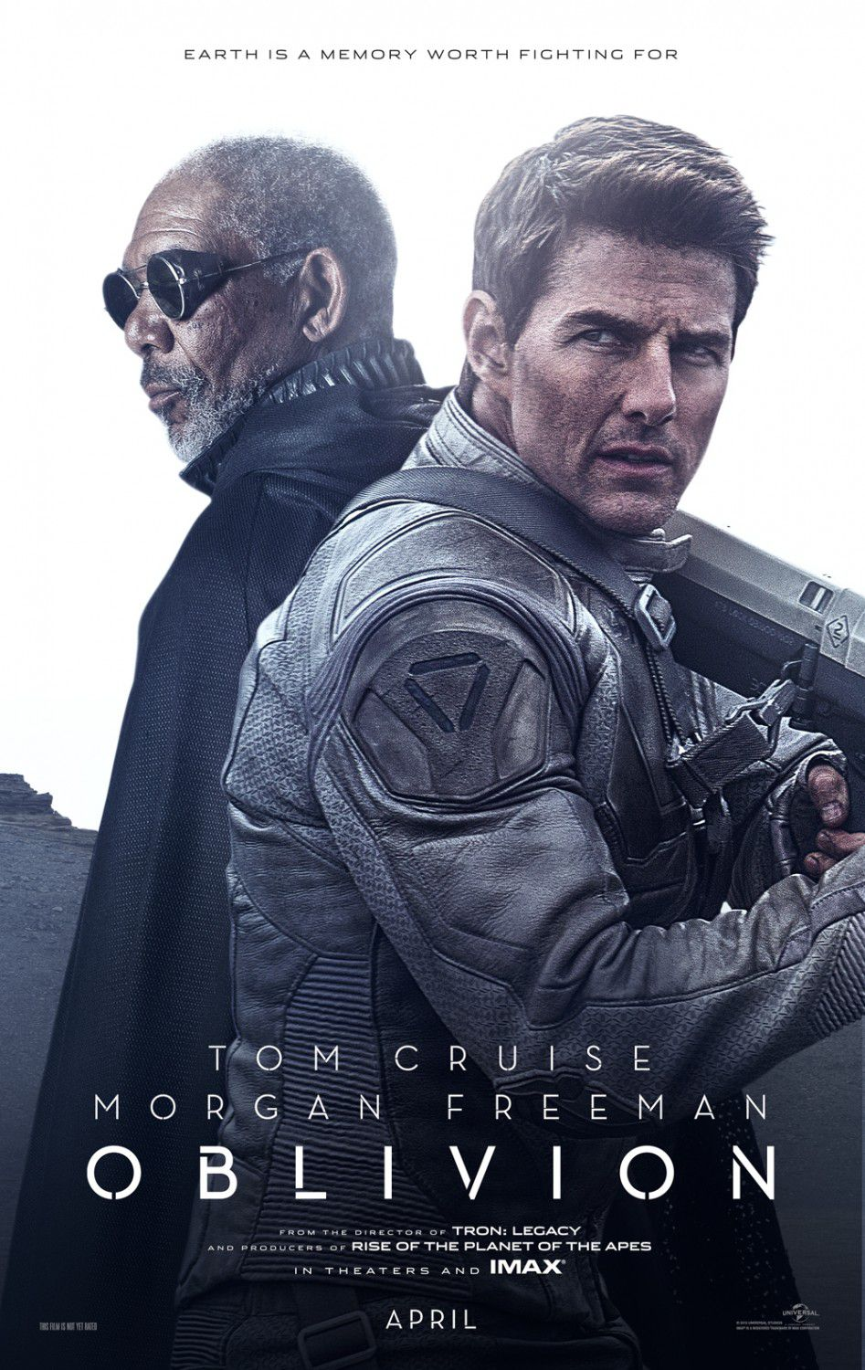 Oblivion (2013) Tom Cruise  & Morgan Freeman