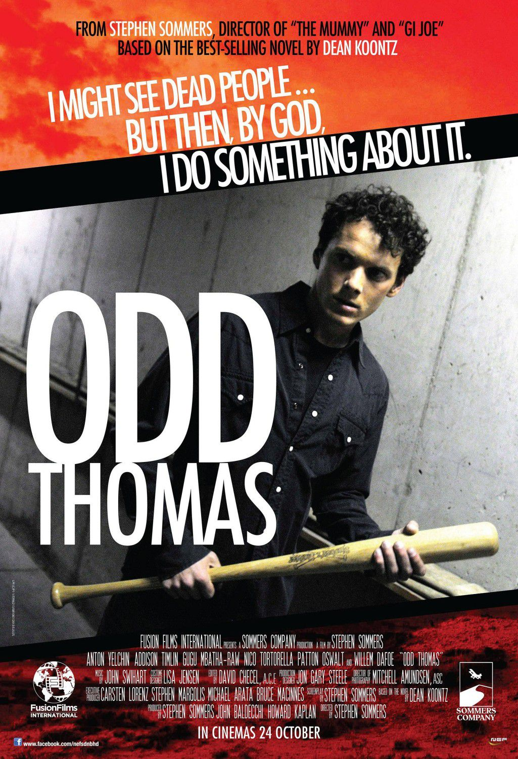 Odd Thomas - ghost film poster