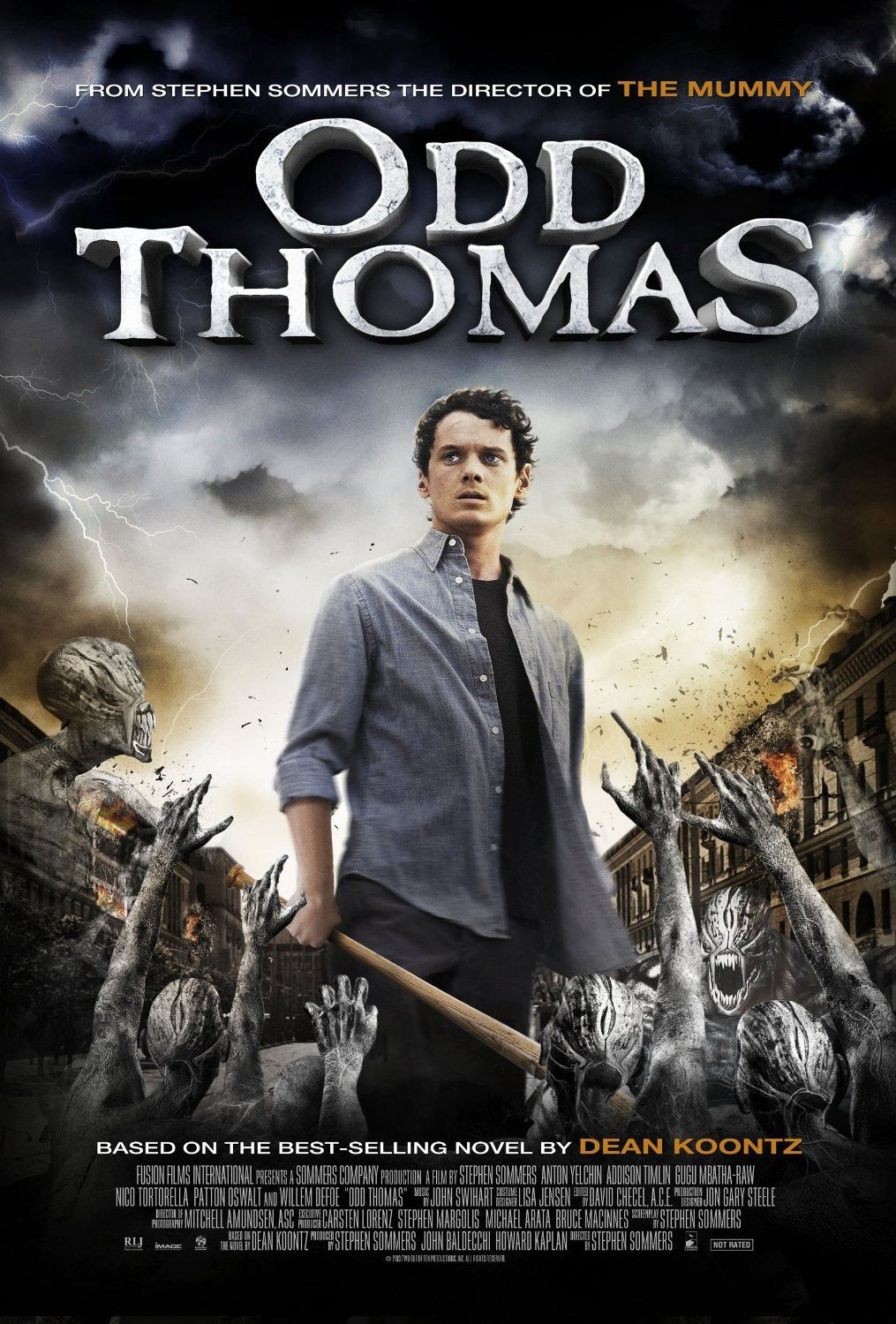 Odd Thomas - paranormal film poster