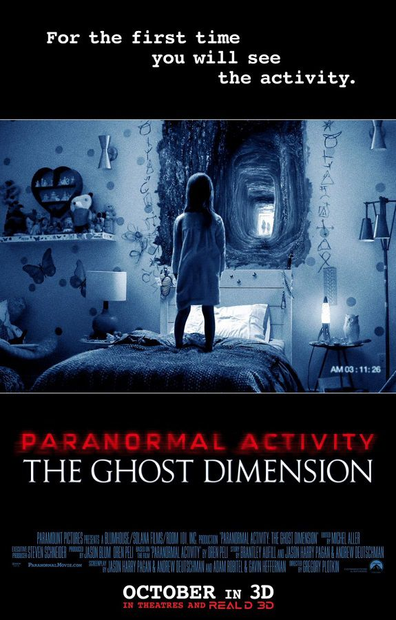 Paranormal Activity 5 - the Ghost Dimension (2015)