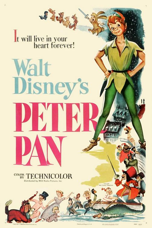 Peter Pan (Animated Disney 1953)