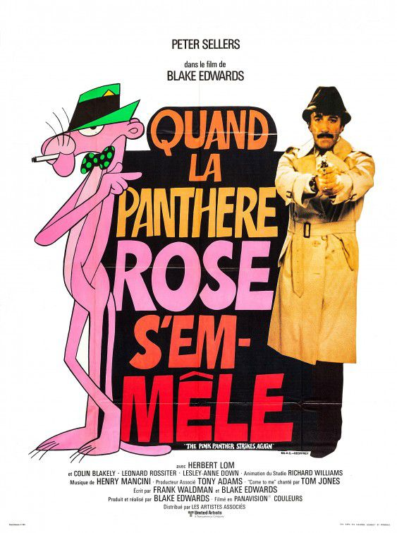 Pink Panther 3 strikes again (1976)