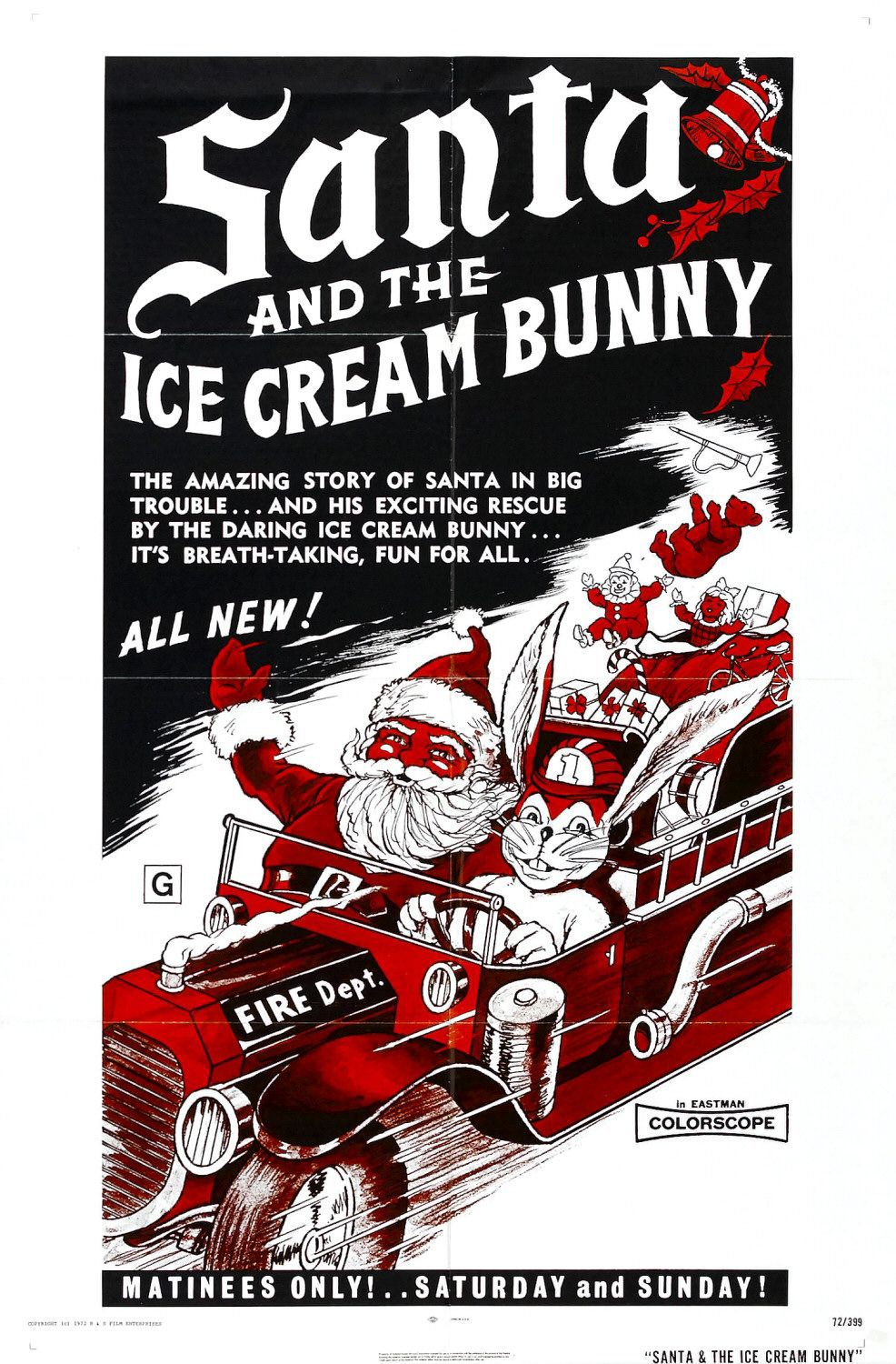Santa and the Ice Cream Bunny (1972)