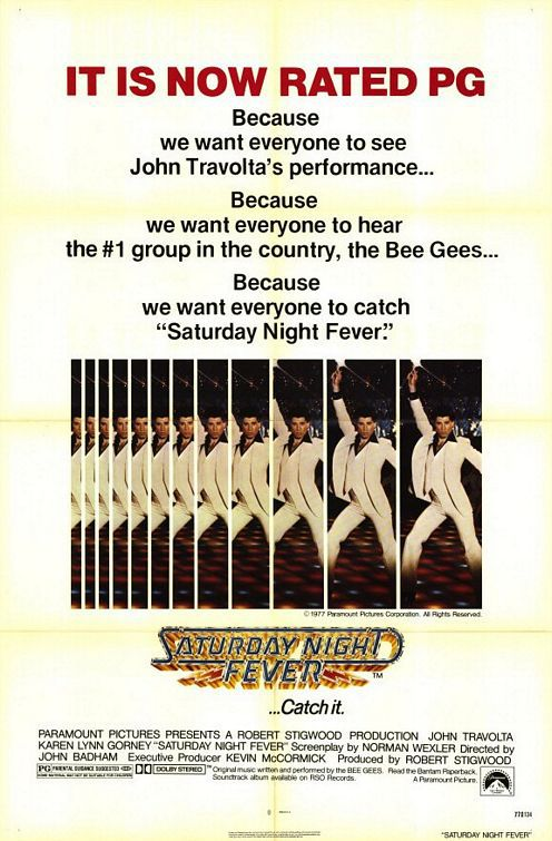 Saturday Night Fever - La Febbre del Sabato Sera - film poster
