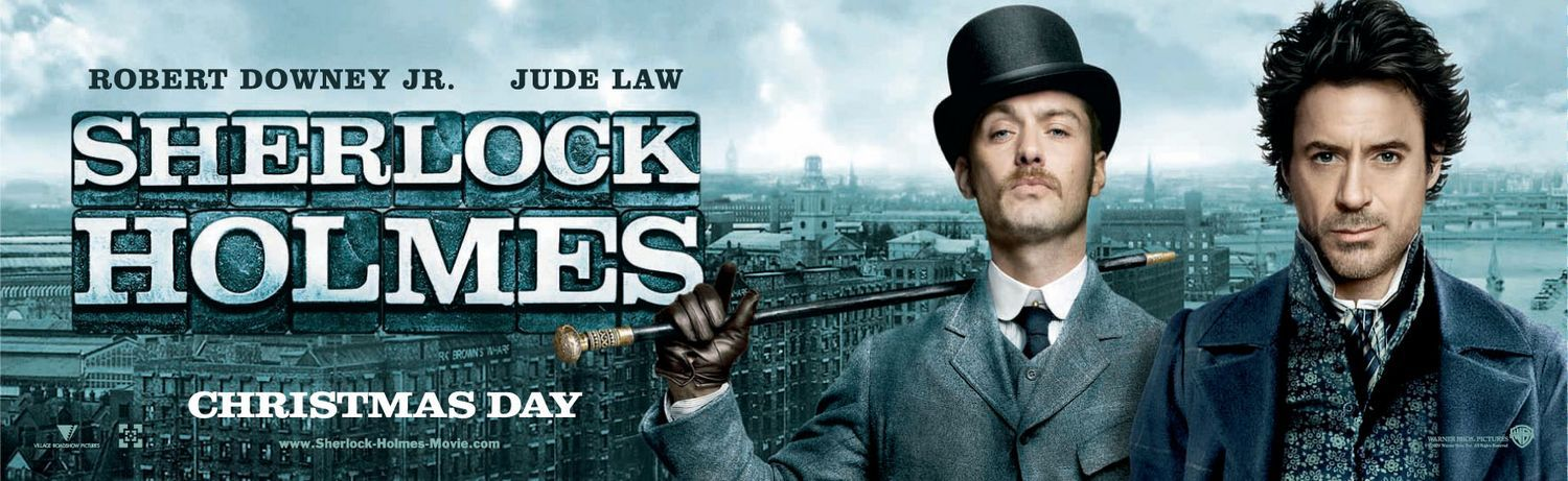 Sherlock Holmes (2009) with Robert Downey Jr. & Jude Law