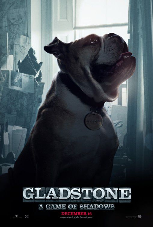 Sherlock Holmes a Game of Shadows - Gioco di Ombre (2011) - Gladstone the special dog