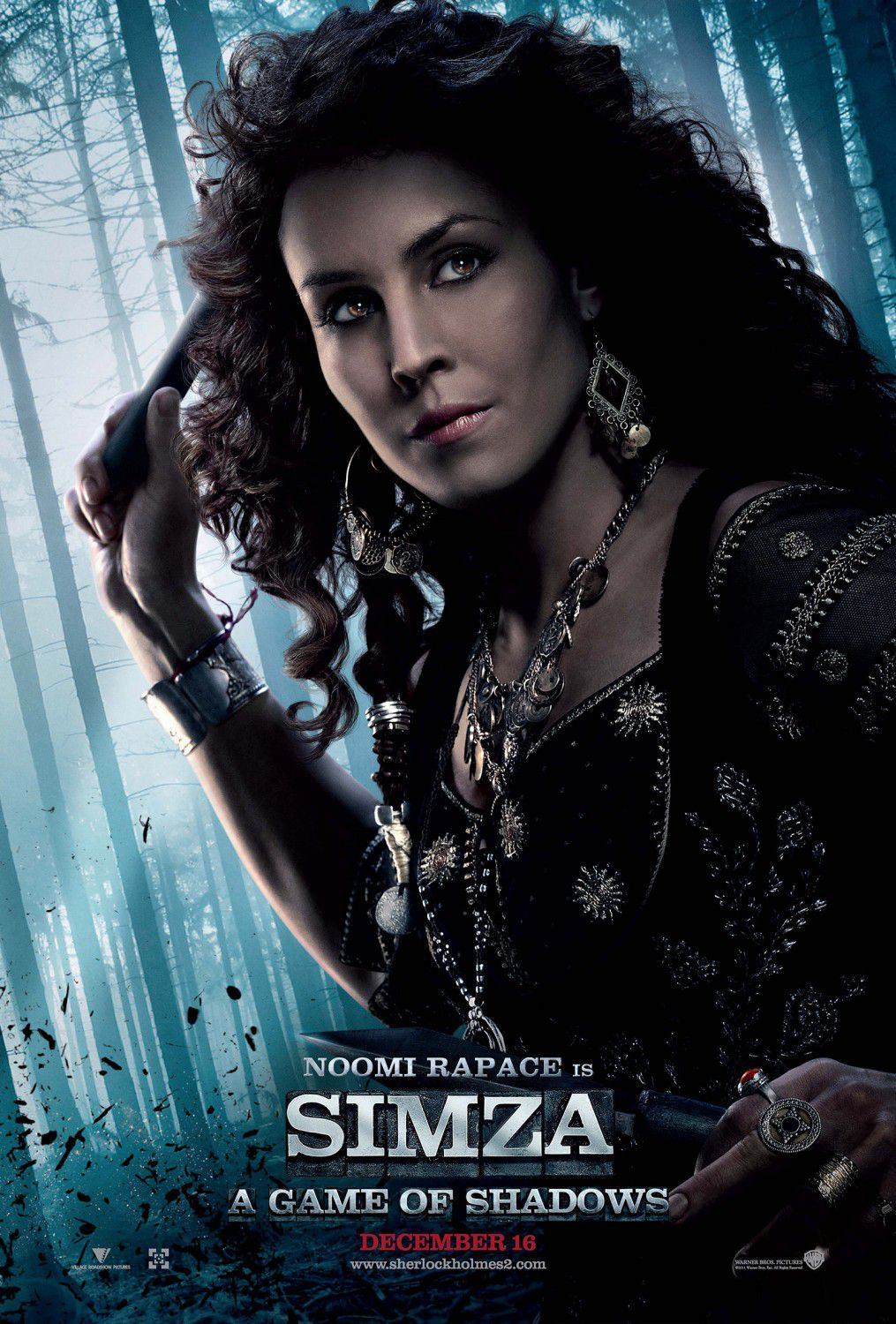 Sherlock Holmes a Game of Shadows - Gioco di Ombre (2011) - Noomi Rapace