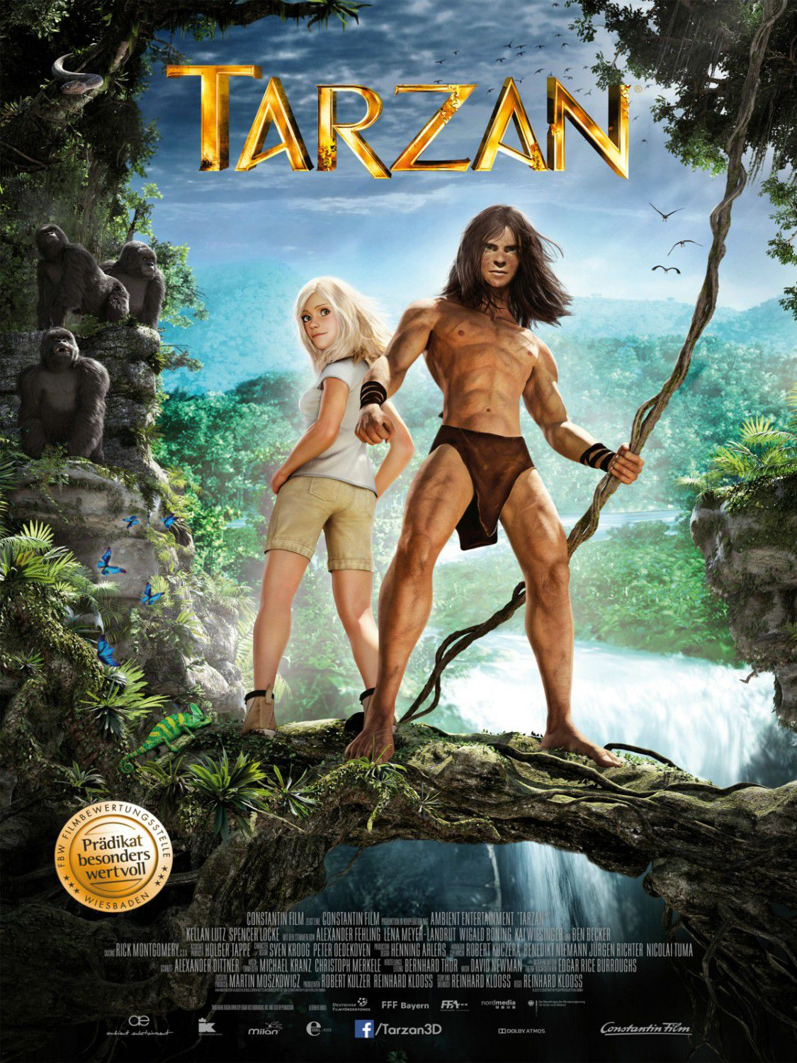 Tarzan (2013) animated