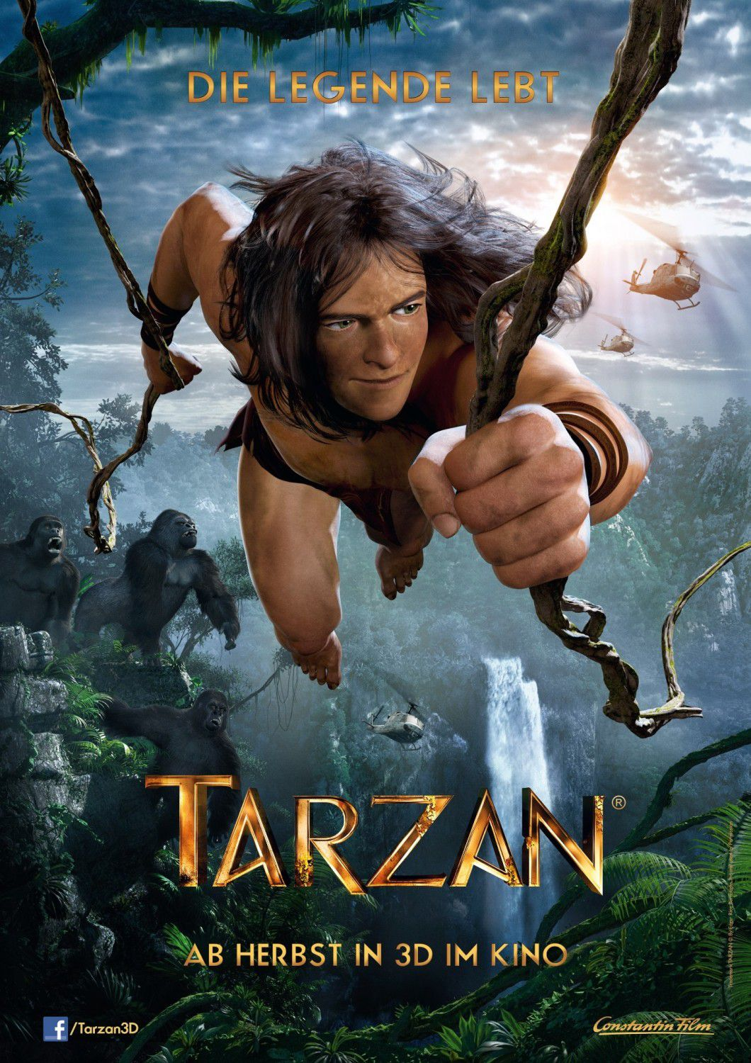 Tarzan (2013) animated story