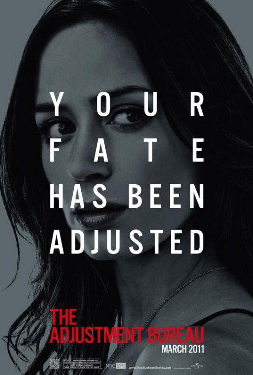 Adjustment Bureau - I Guardiani del Destino (2011) Your Fate has been adjusted - Emily Blunt