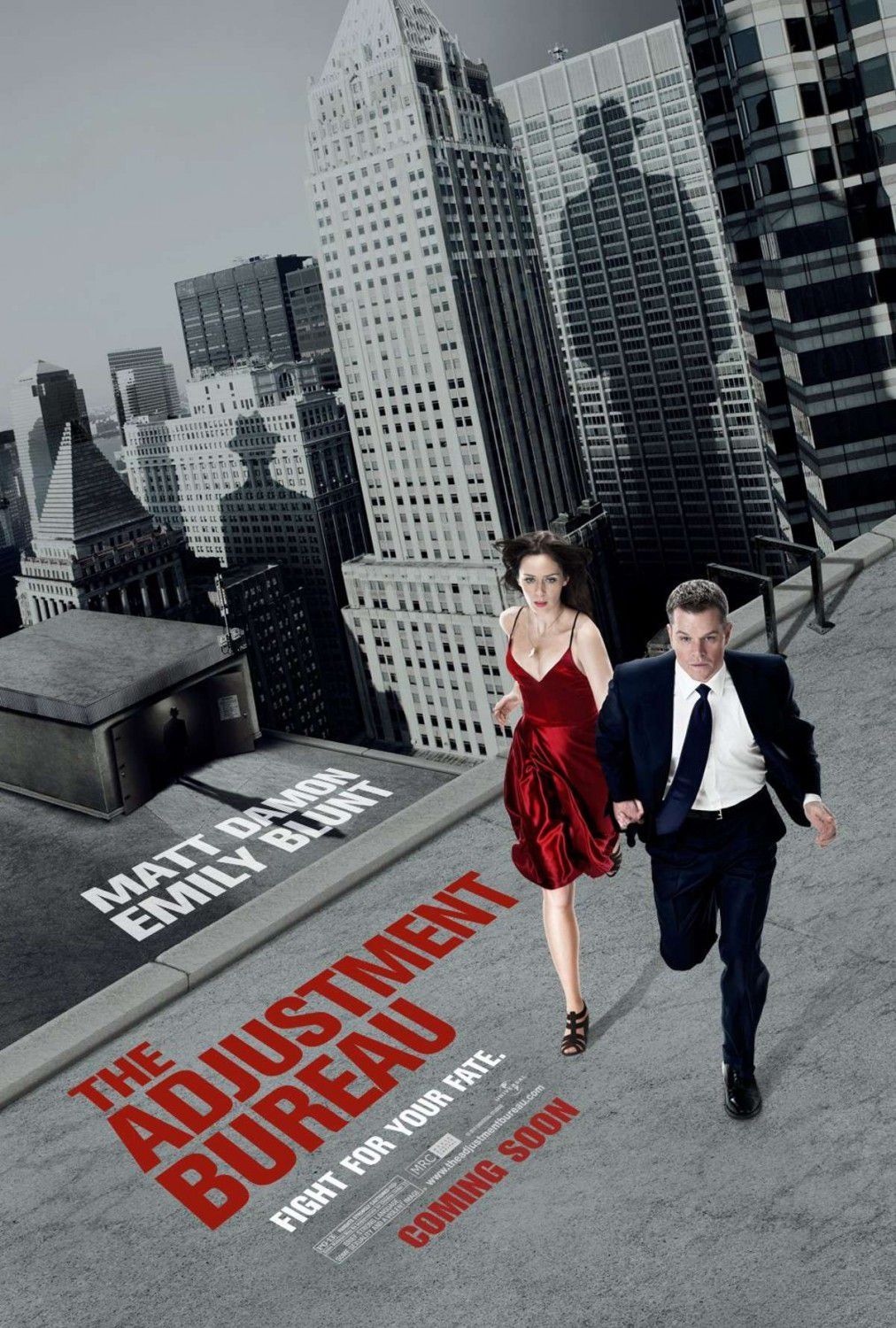 Adjustment Bureau - I Guardiani del Destino (2011) poster collection