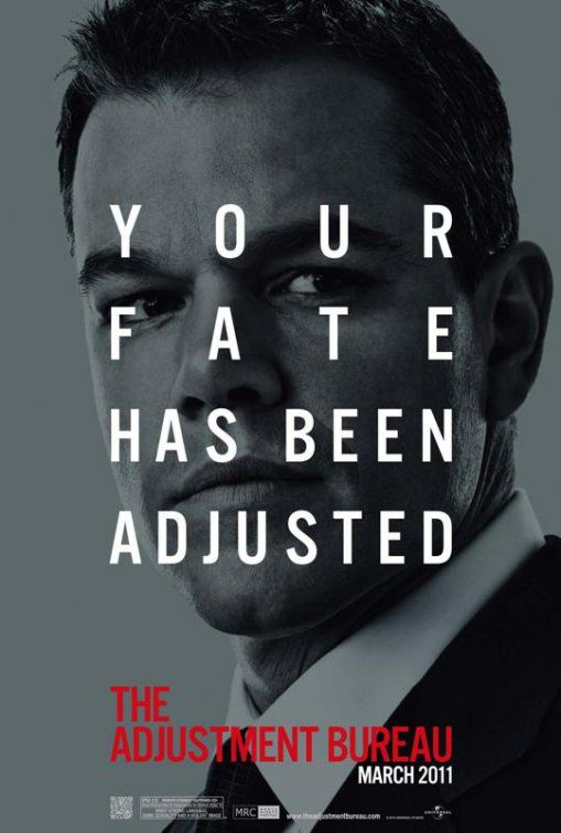 Adjustment Bureau - I Guardiani del Destino (2011) Your Fate has been adjusted - Matt Damon
