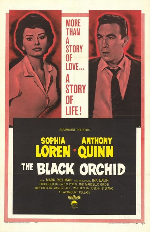 The Black Orchid - Orchidea Nera (1958)