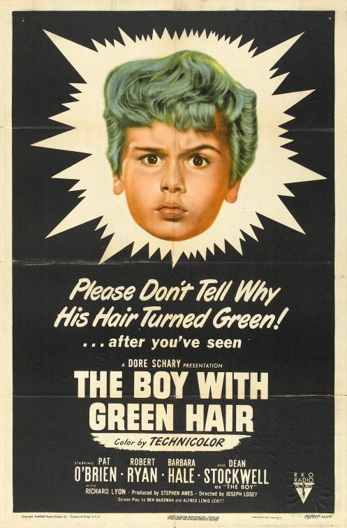 The Boy with green hair - il Ragazzo con i Capelli verdi (1948)