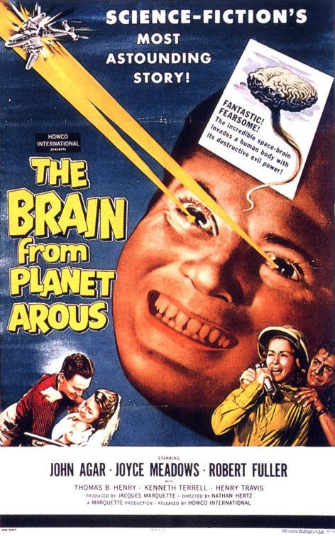The Brain from Planet Arous (1957)