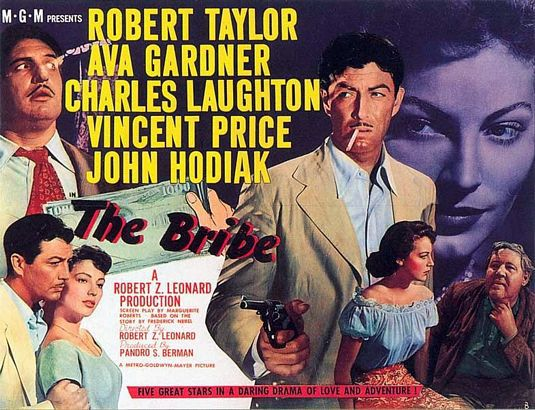 The Bribe (1949) - classic cult 40's