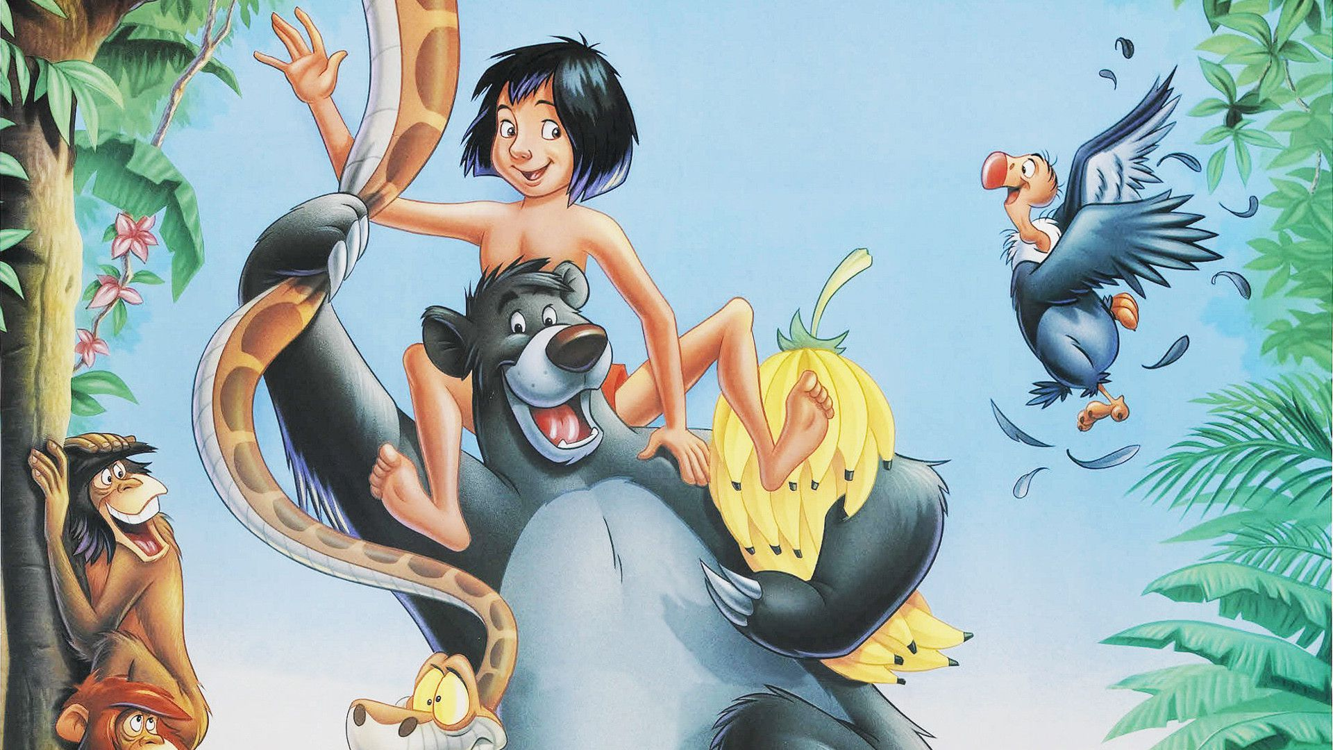 The Jungle Book - il Libro della Giungla - Disney animated cartoon