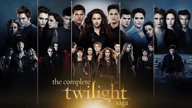 Tutti i films di Twilight ... la Saga ...