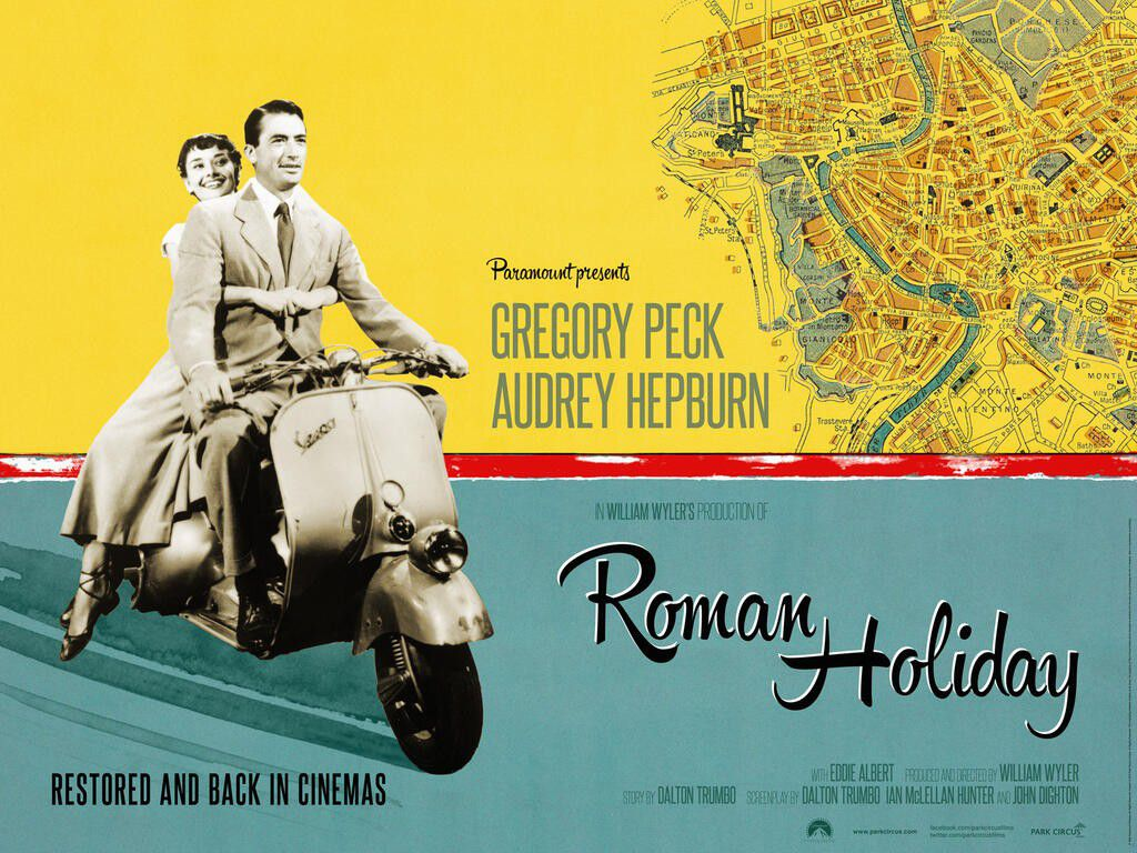 Vacanze Romane - Roman Holiday (1953) Vespa
