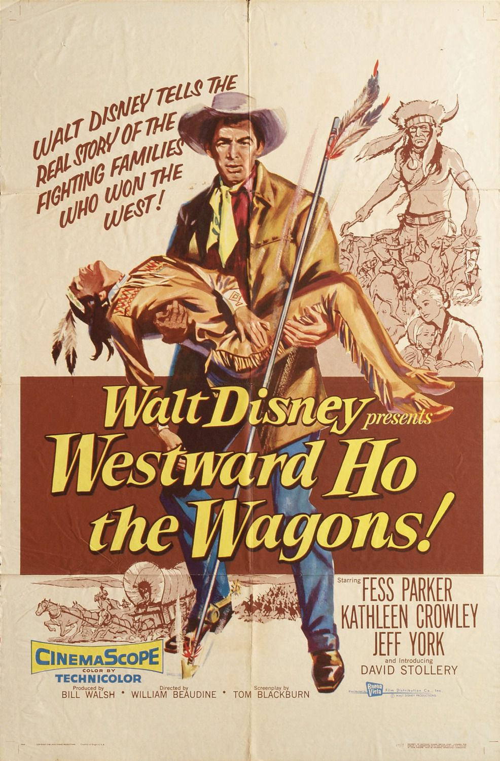 Westward ho the Wagons (1956)