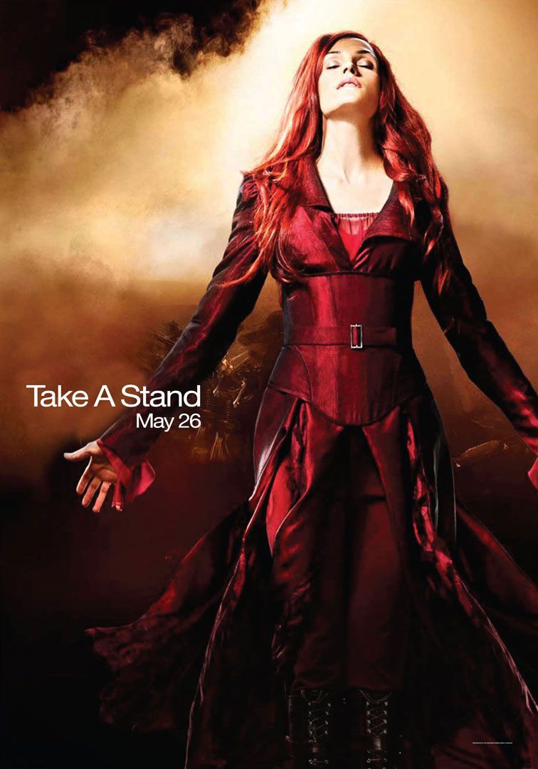 X-Men 3 - Conflitto Finale - the Last Stand (2006) Phonex withred outfit suit