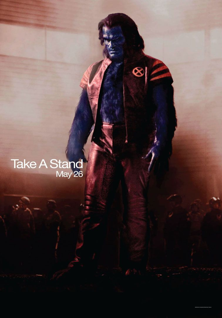 X-Men 3 - Conflitto Finale - the Last Stand (2006) Beast with a red outfit