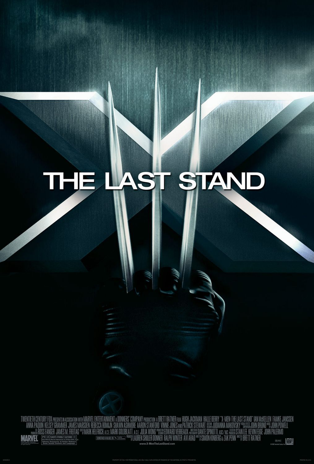 X-Men 3 - Conflitto Finale - the Last Stand (2006) logo