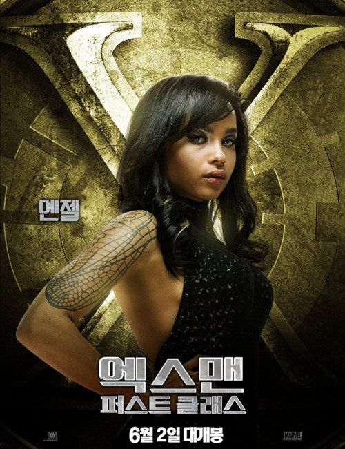 Zoe Kravitz as Angel