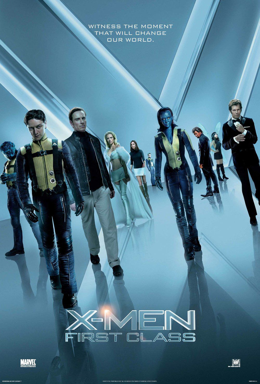 X-Men 5 - L'Inizio - First Class (2011) - poster collection