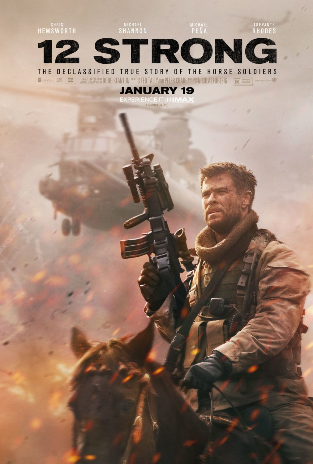 12 Strong the Declassified True Story of the Horse Soldiers  Chris Hemsworth