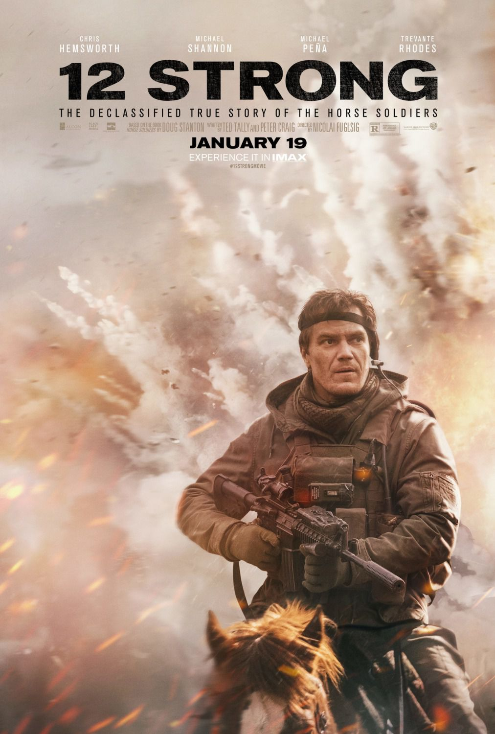 12 Strong the Declassified True Story of the Horse Soldiers  Michael Shannon