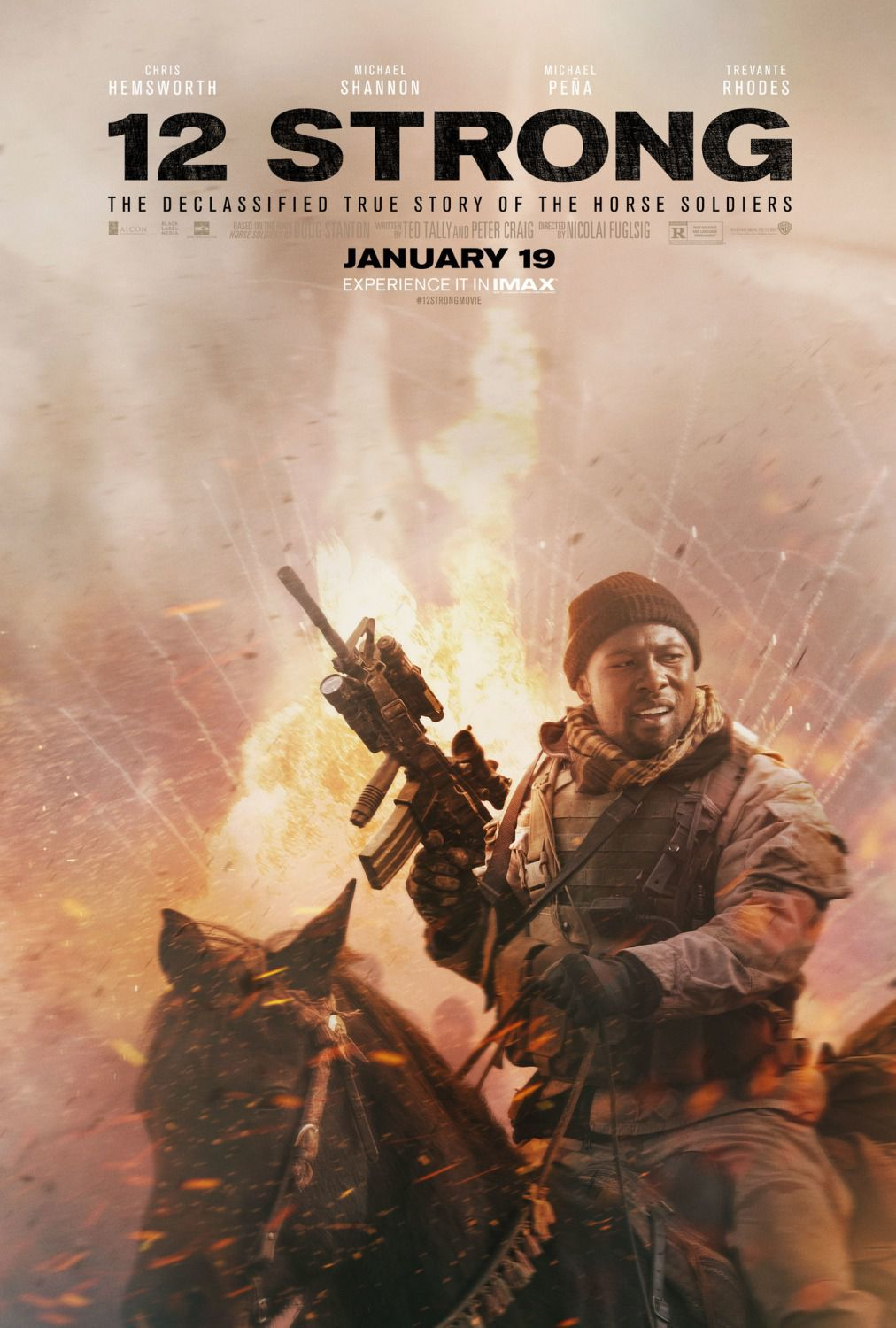 12 Strong the Declassified True Story of the Horse Soldiers Trevante Rhodes