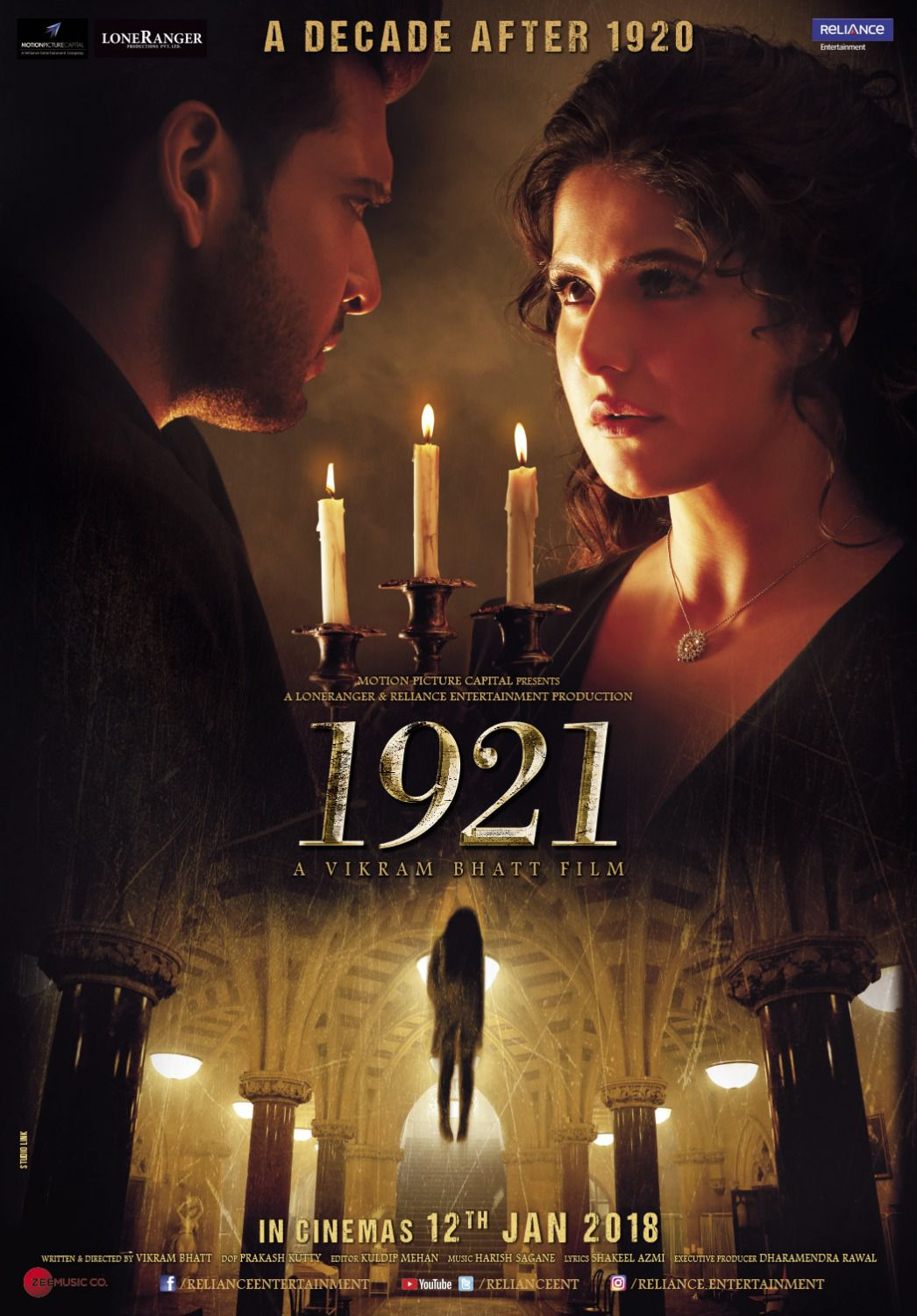 1921 horror film by Vikram Bhatt - film poster