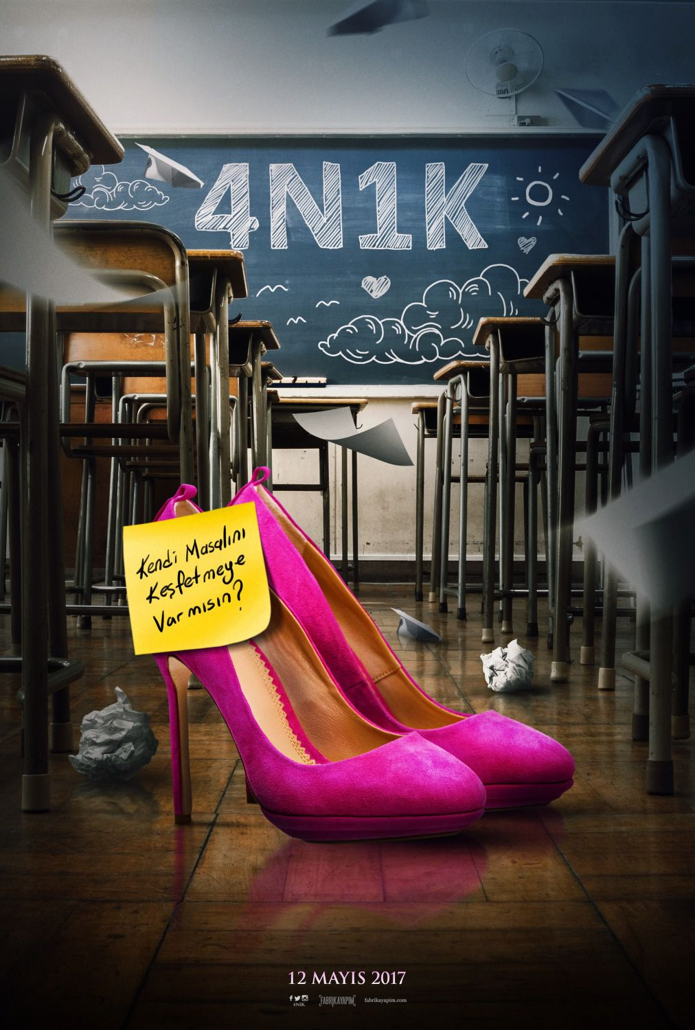 4N1K - school shoes
