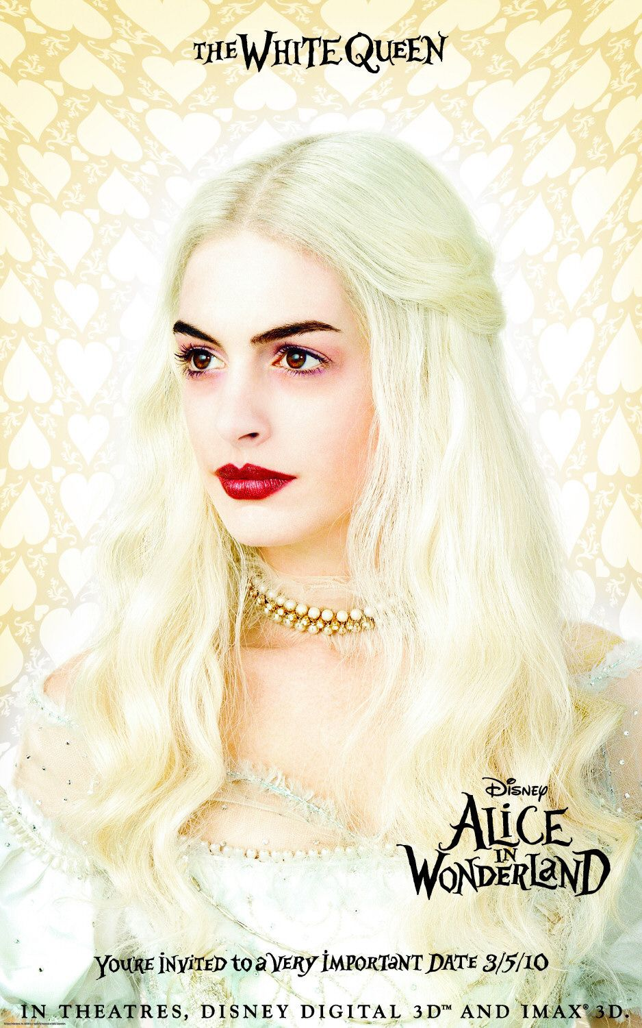 White Queen -  Anne Hathaway