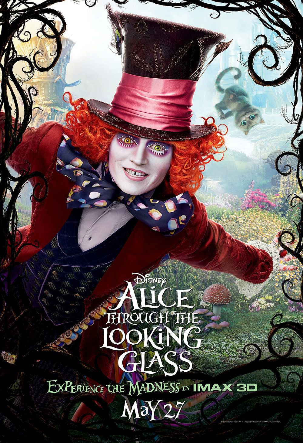 Johnny Depp - Mad Hatter - Cappellaio Matto
