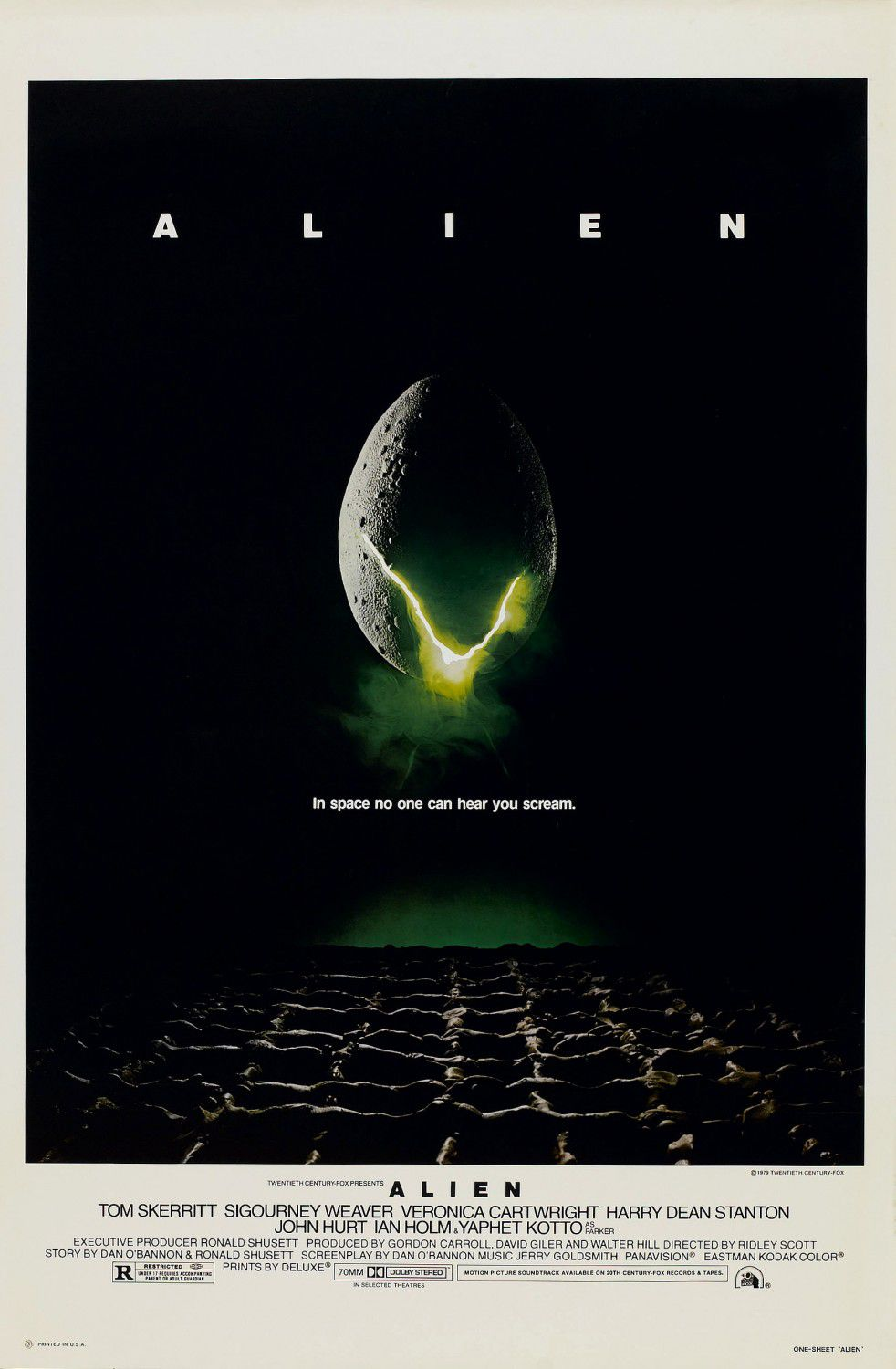 Alien - first film poster - egg - uovo