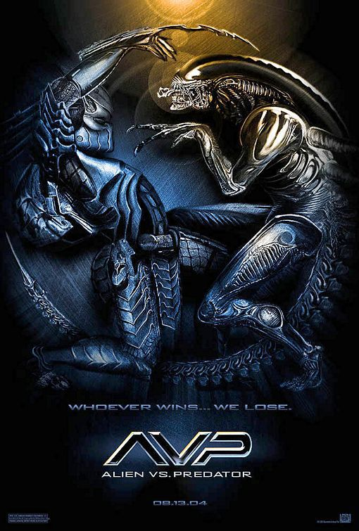 Alien vs Predator - AVP - film poster