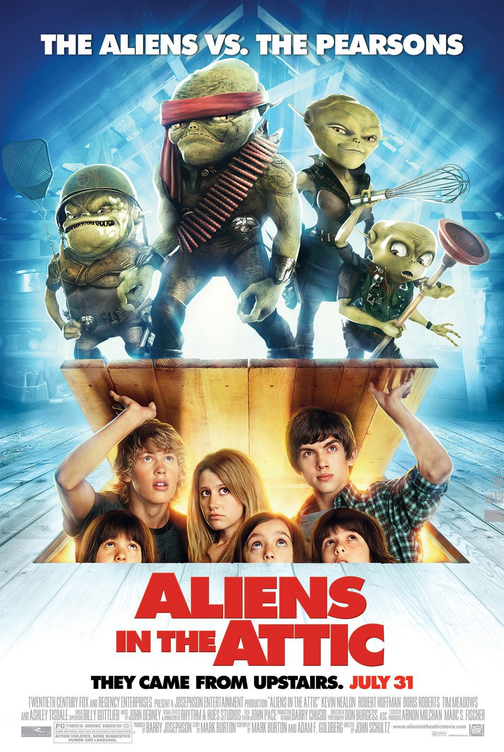 Aliens in the Attic - Alieni in Soffitta - film poster