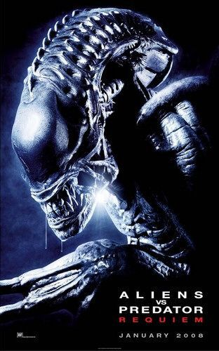 Alien vs Predator 2 - Requiem - AVPR - film poster