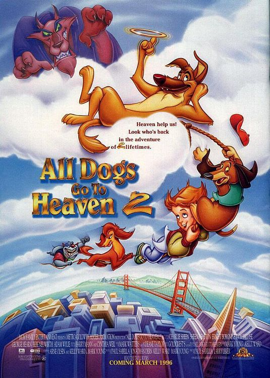 Charlie, anche i Cani vanno in Paradiso - All Dogs go to Heaven ... both films