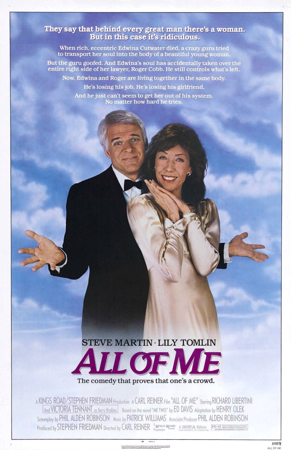 Ho sposato un Fantasma - All of Me - comedy film poster