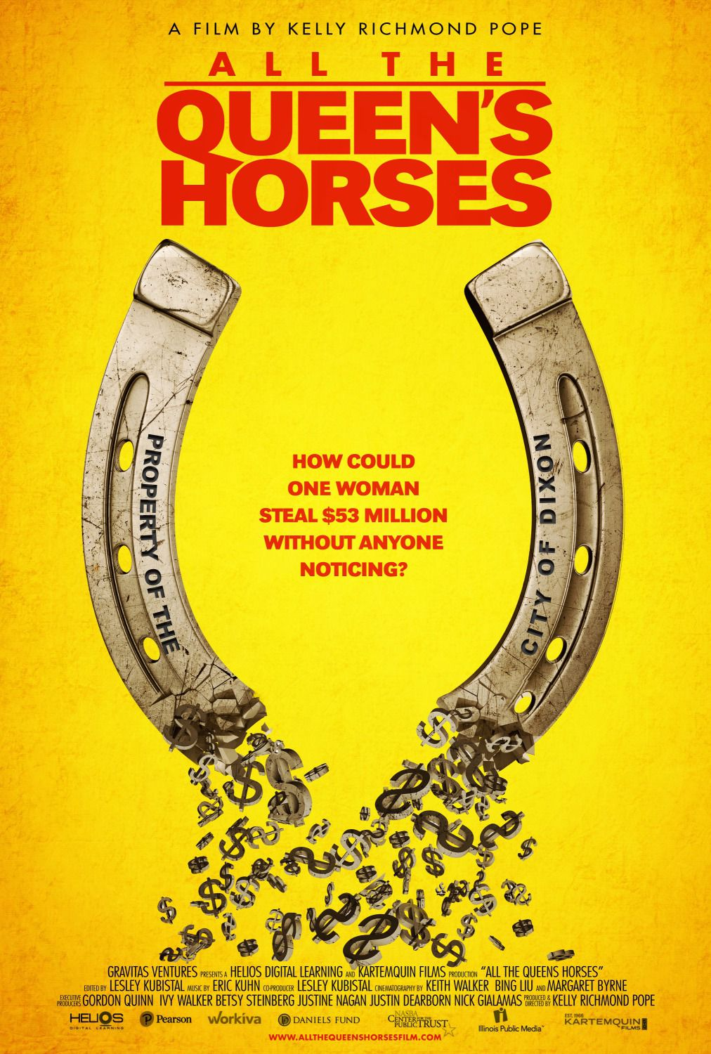 All the Queen's Horses by Kelly Richmond Pope - film poster