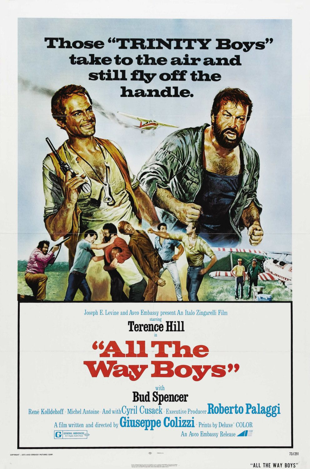 All the Way Boys - ... più forte Ragazzi!  - film poster