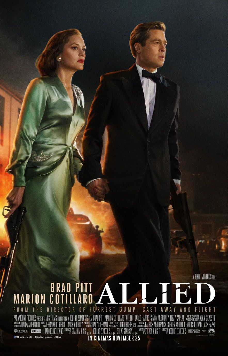 Allied - Alleati - film poster