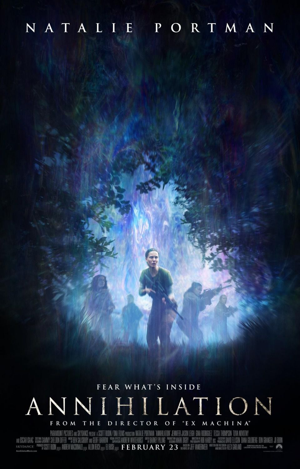 Annihilation - Fear whats inside - Natalie Portman