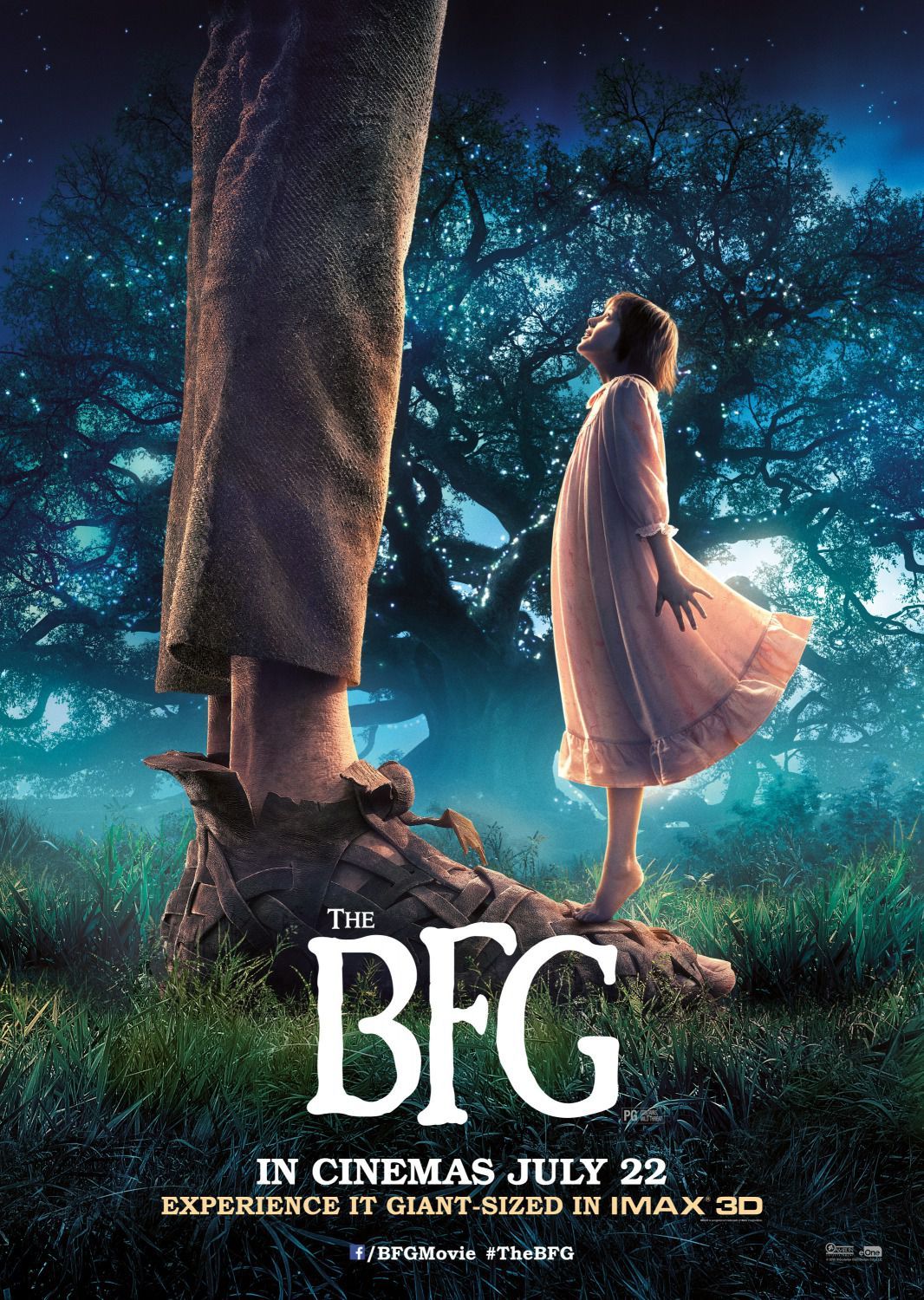 BFG - Big Friendly Giant - Grande Gigante Gentile - poster