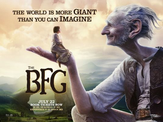 BFG - Big Friendly Giant - Grande Gigante Gentile